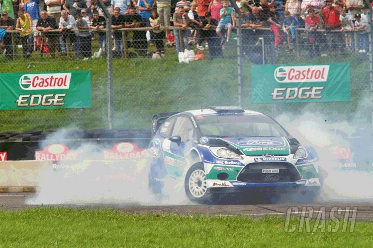 Petter Solberg thrills at Rallyday 2012