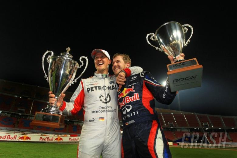 Vettel, Schumacher notch up sixth ROC win