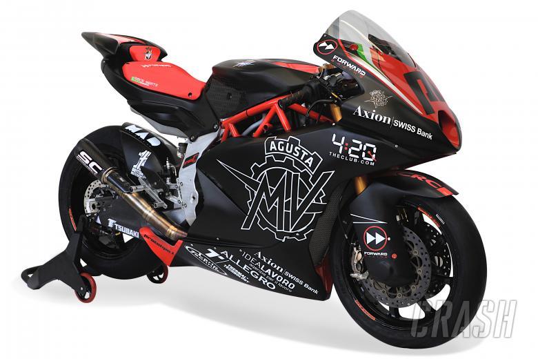 MotoGP: Video: MV Agusta presents 2019 Moto2 machine