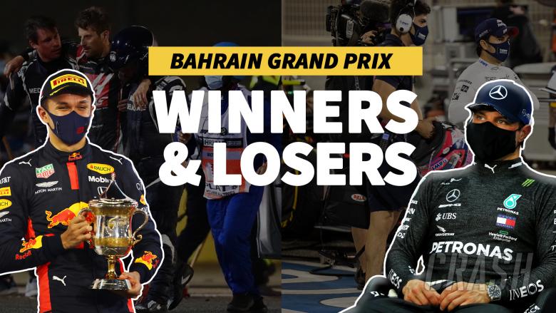 Grosjean's miracle and a Racing Point nightmare - F1 Bahrain GP Winners & Losers