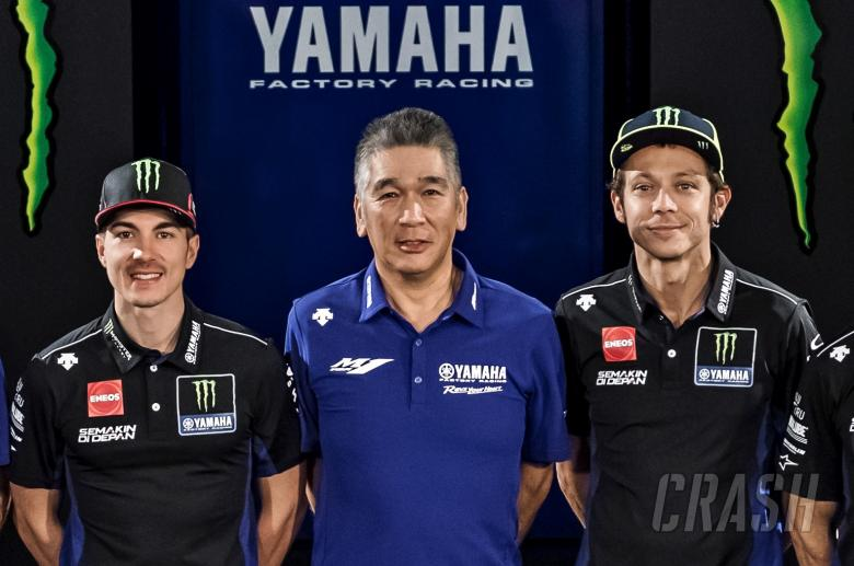 Yamaha: 'Same direction' for Rossi, Vinales