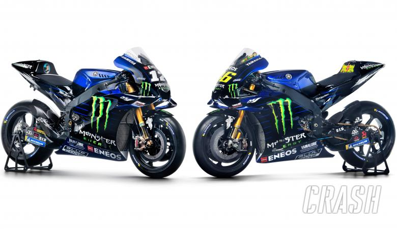 2019 Monster Yamaha colours for Rossi and Vinales.