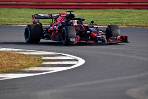 VIDEO: Red Bull Honda on track at Silverstone
