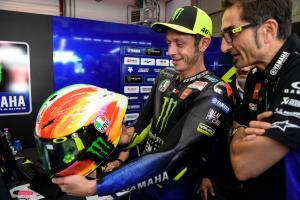 PICS: Valentino Rossi's Mugello helmet