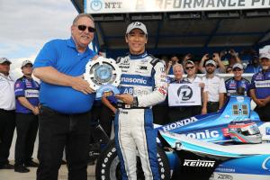 Takuma Sato rockets to DXC Technology 600 pole at Texas Motor Speedway