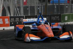 Dixon extends IndyCar points lead with Toronto victory