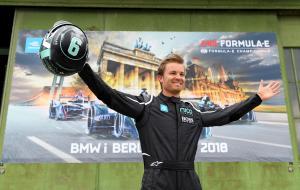 Rosberg makes 'special' single-seater comeback in FE demo