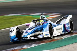 Sims completes BMW Formula E pre-season test sweep