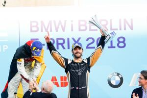 Vergne happy with Berlin FE podium behind 'untouchable' Audis