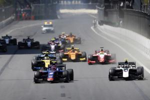 F2 Azerbaijan - Feature Race Results