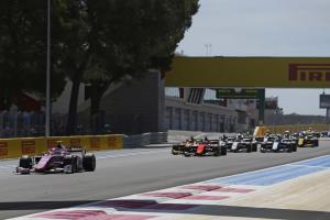 Formula 2 France - Sprint Race Results