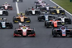 F2 Hungary - Sprint Race Results