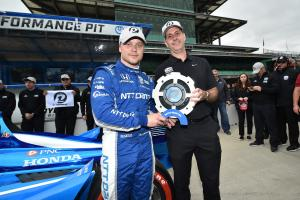 Felix Rosenqvist edges Dixon for IndyCar Grand Prix pole