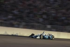 Josef Newgarden and Santino Ferrucci share opinions on Gateway spin