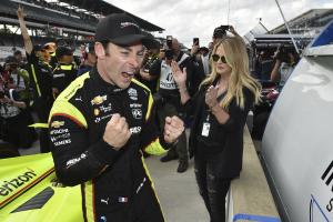 Simon Pagenaud claims career milestone Indy 500 pole