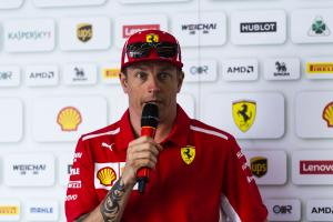 Raikkonen: Ferrari F1 future not in my hands
