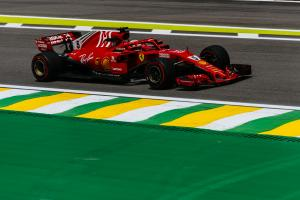 Vettel pulls clear in final Brazilian GP practice