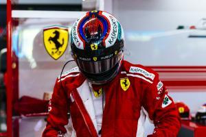 Raikkonen fastest in Singapore FP2 as Vettel hits wall