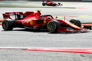 Leclerc had no flashbacks to previous defeats at Spa