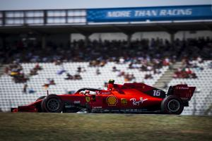 Leclerc fastest from Verstappen in final German GP practice