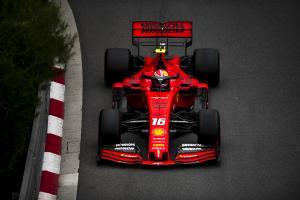 Leclerc: Ferrari 'not on the level of Mercedes' in Monaco