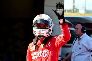 Vettel surprised by Ferrari front row lock-out at Suzuka