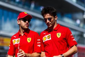 Too soon to say Leclerc is my toughest F1 teammate - Vettel
