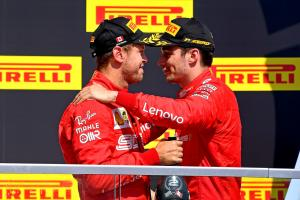 "Ferrari ""forgot"" to tell Leclerc about Vettel's penalty"
