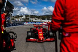Vettel: V12s comment after Russia DNF 'very bitter'