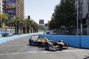 Vergne takes Santiago Formula E pole after crashes