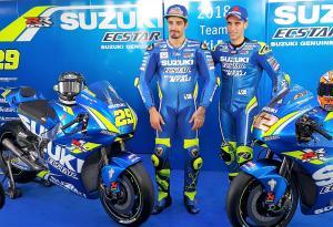 Suzuki unveils 2018 MotoGP colours