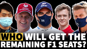 F1 video: The latest on the 2021 driver market - Who will land the final seats?