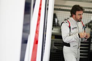 Alonso set for first Daytona laps on Friday
