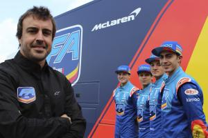 "Alonso: Launching Formula Renault team a ""dream come true"""