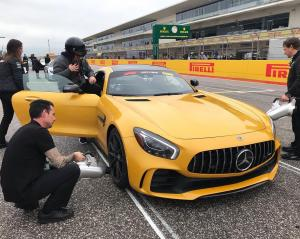VIDEO: A COTA hot lap with Britain's next F1 star