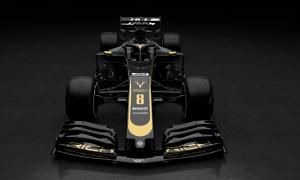 Haas reveals new black and gold F1 livery for 2019