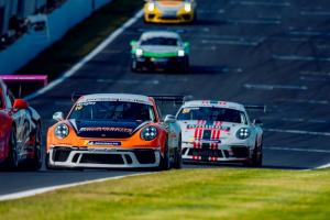 Wrigley wins Porsche finale, Ellinas snatches title