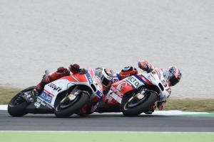 Petrucci: Lorenzo 'target' helped me to front row