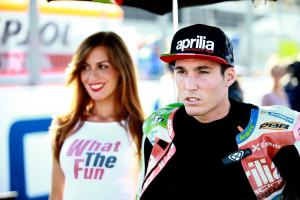 "'I'd like to keep riding for Aprilia until I retire"""