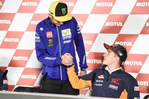 "Gossip: Marquez explains what makes Rossi ""truly impressive"""