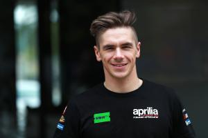 Redding targeting top six with Aprilia