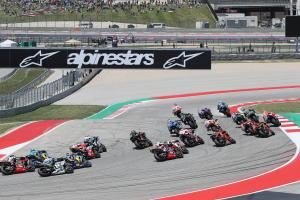 MotoGP race start, COTA,