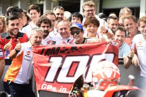 Marquez 'not being crazy' to build MotoGP points lead