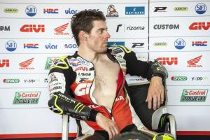 Crutchlow 'learning to ride again' in injury return
