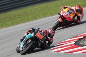 Quartararo reaches goal, braking aims for Qatar