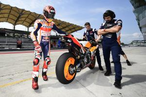 Marquez feared he wouldn't be fit for final day of Sepang test