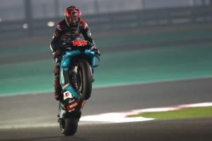 Fastest Quartararo: We are not ready to race yet