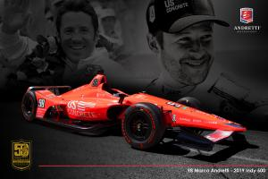 Marco Andretti pays tribute to Mario with throwback livery