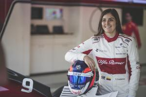 How Calderon continues to crack motorsport's glass ceiling