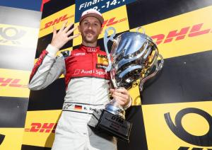 Rast 'not giving up' on title after making DTM history
